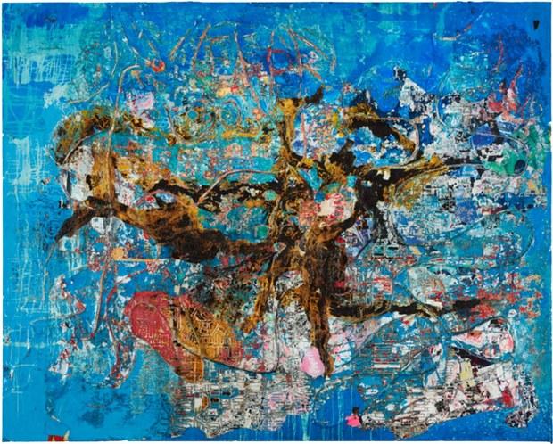 1. Mark Bradford, Galería Hauser & Wirth .jpg