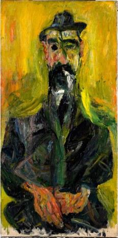 """2. Chaim Soutine, """"El hombre del sombrero"""", ca. 1919-20.jpg"""
