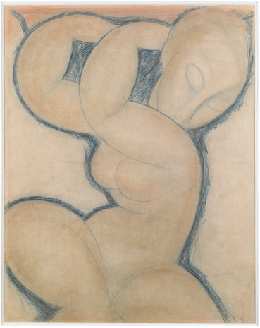 "3. Amedeo Modigliani, ""Cariátide (azul)"", ca. 1923.jpg"